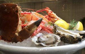 Stockholms Matmarknad skaldjurstallrik