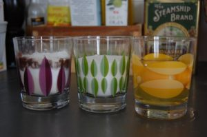 Regnbågstårta glas pernilla lyck