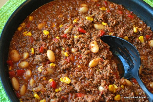 Chili con carne nadjas kitchen