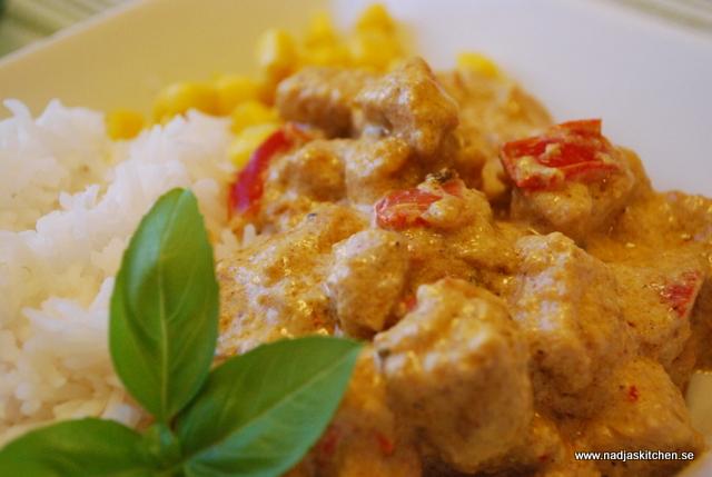 Krämig Chicken Korma nadjas kitchen