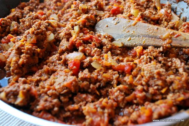 Spagetti med morotsköttfärsås nadjas kitchen