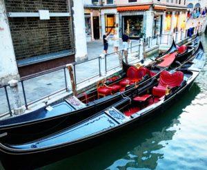 Gondoler Venedig