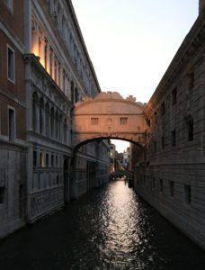 Suckarnas bro Ponte dei Sospiri Venedig