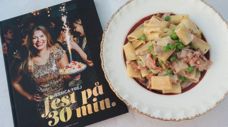 fest på 30 minuter jessica frej kokbok maträtt