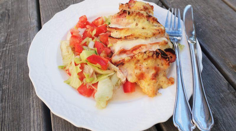 Kyckling med mozzarella