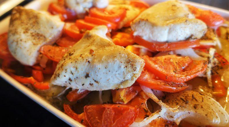 Grillkryddad kyckling i ugn