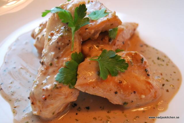 Kyckling i balsamico- och oreganosås nadjaskitchen