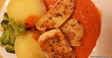 Kyckling med ajvar relishsås nadjaskitchen