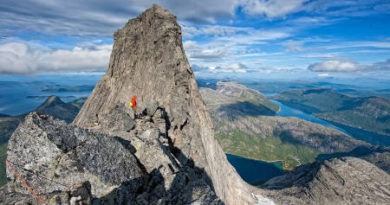 Vandra i Norge Stetind, Norges nationalfjäll