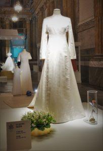 Drottning Siliva Brudklänning