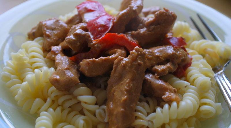 Kotlett i paprika- och chilisås nadjas kitchen