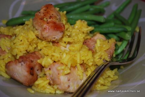 Currypilaff med kyckling nadjas kitchen
