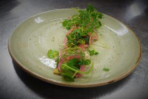 Julbord och vegan-meny vegan förrätt Birka