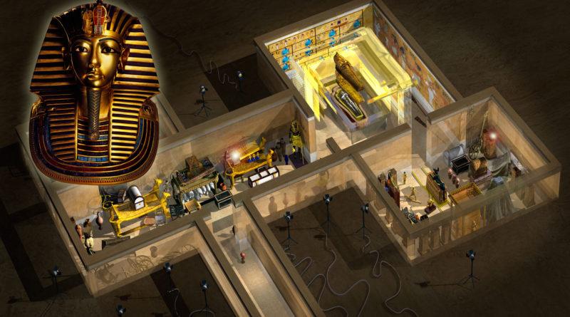 Tutankhamun har kommit till Sverige