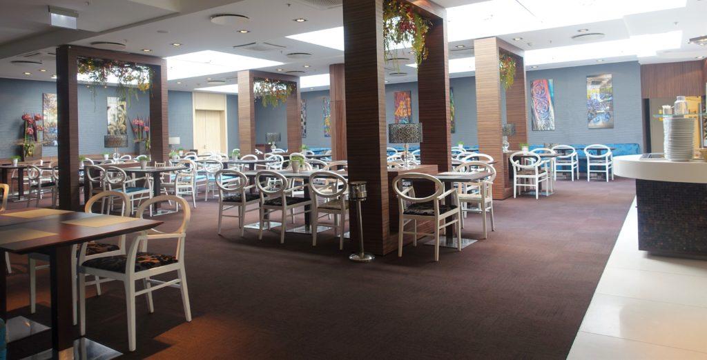 Frukostmatsalen Tallink Riga Hotel