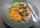 Kyckling med timjan och svamp