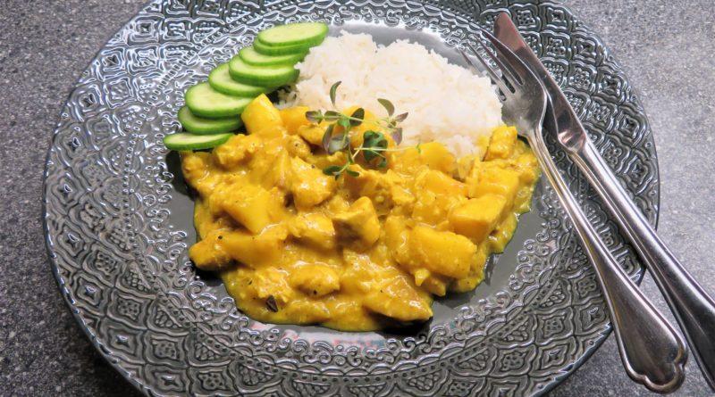 Kycklingcurry med mango