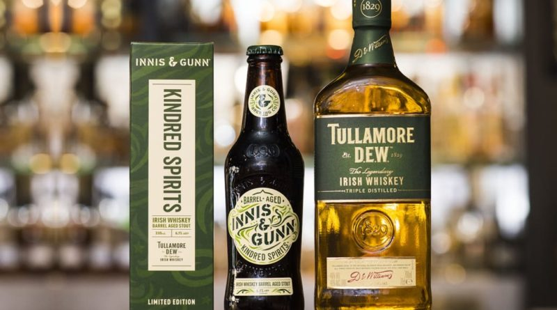 Innis & Gunn och Tullamore D.E.W. släpper whiskeyfatslagrad stout