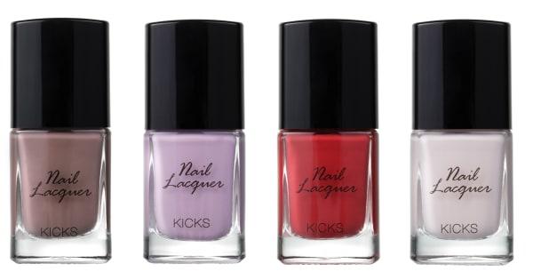 KICKS Beauty utökar sin nagellackskollektion