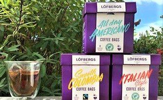 Tepåsens motsvarighet med kaffe – Coffee Bags