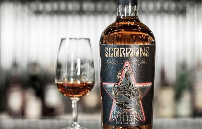 Scorpions hyllar sitt tyska ursprung med första whiskyn!