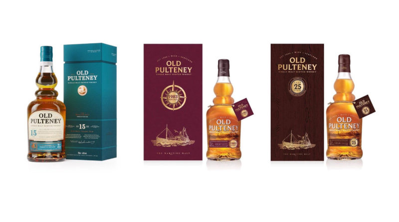 Tre nya Old Pulteney!