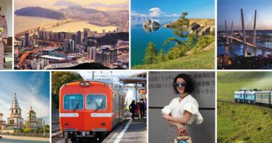 Åk tåg hela vägen till Japan