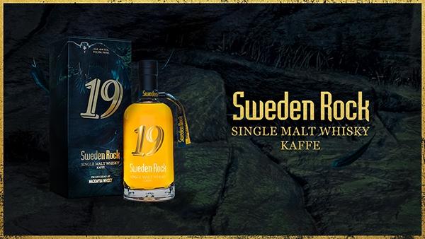 Sweden Rock lanserar single malt whisky med kryddig smak av kaffebönor