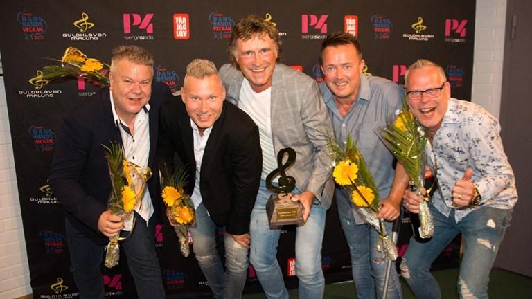 Guldklaven 2019 – Streaplers är Årets dansband!