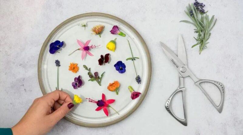 Blommor i maten!