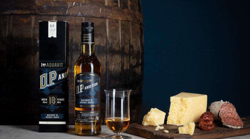 O.P. Andersons nya akvavit har lagrats 18 år på whiskyfat