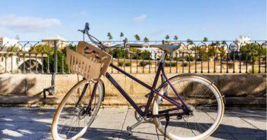 RE:CYCLE – cykel gjord av återvunna kaffekapslar