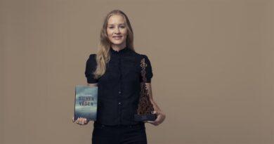 Debutförfattare vann Årets Bok!