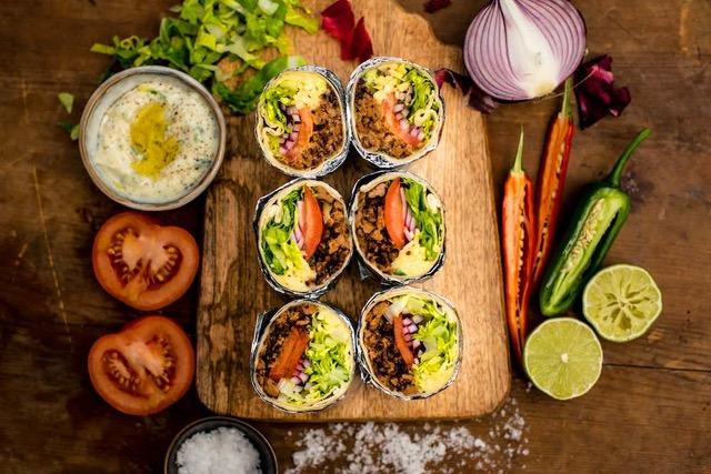 Quorn Burritos