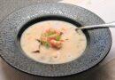 Superenkel fisksoppa med räkor och dill