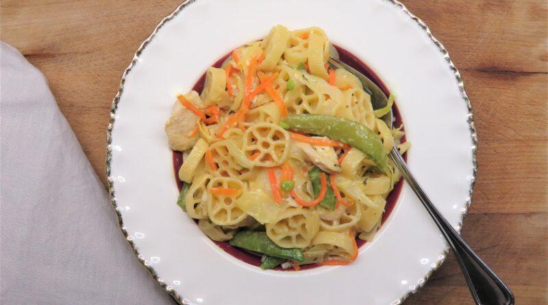Salviakyckling med pasta