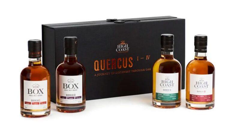 Quercus I–IV Series – unik samlingsbox från High Coast Whisky