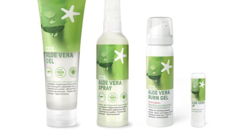 CCS Aloe Vera – återfuktande och lugnande för utsatt sommarhud