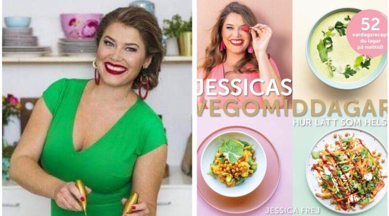 Jessica Frej bjuder på 52 läckra vegomiddagar!