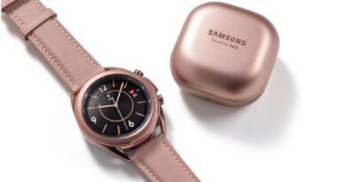 Samsung presenterar Galaxy Watch3 och Galaxy Buds