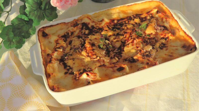 En nästan helt vanlig lasagne