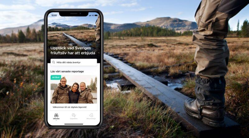 Mera friluftsliv med ny svensk app!