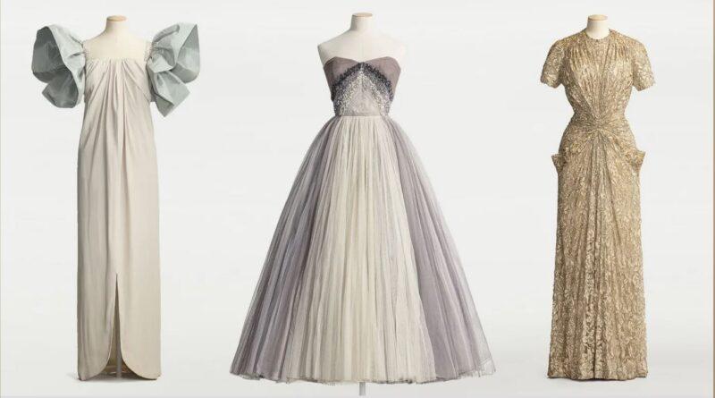 Ny modeutställning hyllar haute couturens gyllene era