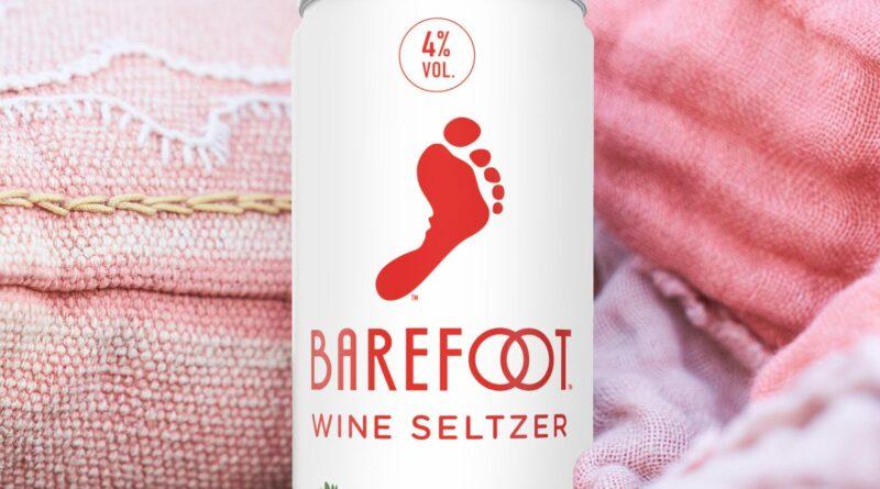 Barefoot Wine Seltzer; Strawberry Guava