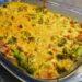 Kassler i ugn med broccoli