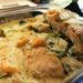 Krämig fiskgratäng med räkor